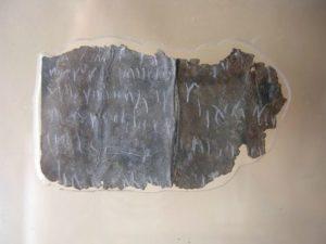 Musée Charles Portal : le défixio énigmatique