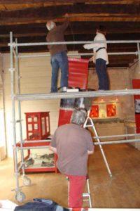 Travaux bénévoles au musée Charles Portal - Cordes sur Ciel