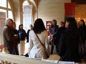 Associations albigeoises en visite au musée Charles Portal de Cordes sur Ciel
