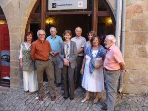 La préfete du Tarn en visite au musée Charles Portal