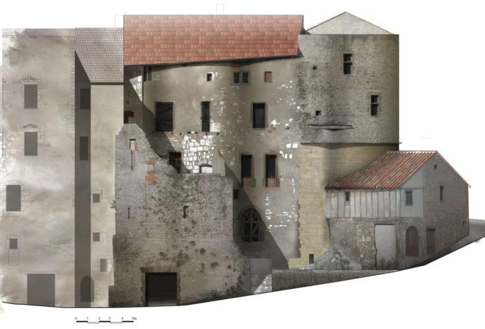 Musée Charles Portal -Le bâtiment vu par les élèves de l'école de Chaillot