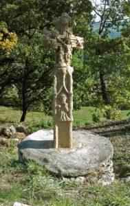 """La Croisx des Fargues, située au lieu-dit """"Les Fargues"""" près de Cordes sur Ciel"""