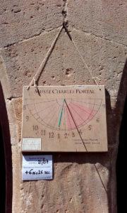 Cadran solaire du musée Charles Portal - Cordes sur Ciel