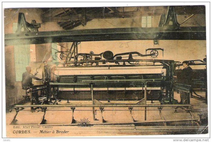 Métier à broder F. MARTINI & CO - Musée Charles Portal - Cordes sur Ciel