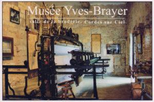 Métier à broder - Musée Brayer
