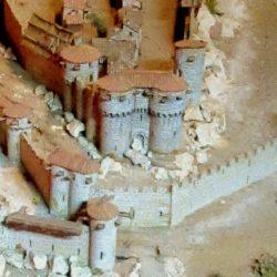 Maquette de la ville de Cordes sur Ciel au XIIIème siècle