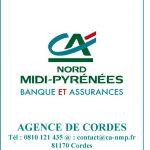 Logo Crédit Agricole Nord Midi Pyrénées